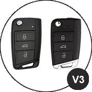 Audi V3 Schlüsselmodell