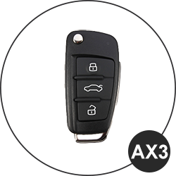 Chiave Audi - AX3