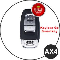 Chiave Audi - AX4 (keyless-Go / Smart Key)