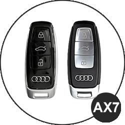 Audi Schlüssel AX7