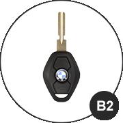 BMW B2 Schlüsselmodell