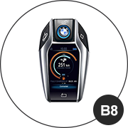 BMW B8 Schlüsselmodell