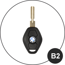 BMW Schlüssel B2
