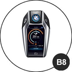 Modèle clé BMW - B8