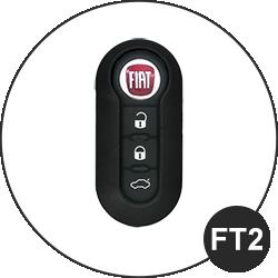 Fiat Schlüssel FT2