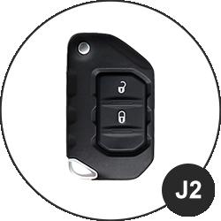 JEEP Schlüssel J2