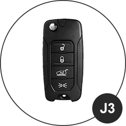 JEEP Schlüssel J3