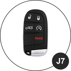 Jeep Schlüssel J7