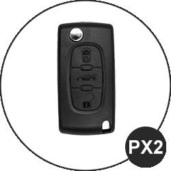 Fiat Schlüssel PX2