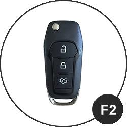 Ford Schlüssel F2