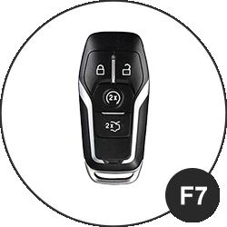 Ford Schlüssel F7
