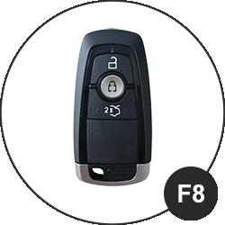 Ford Schlüssel F8