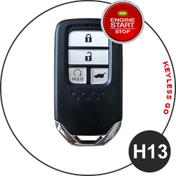 Honda fob key type - H13