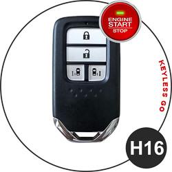 Honda fob key type - H16
