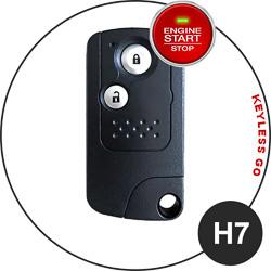 Honda fob key type - H7