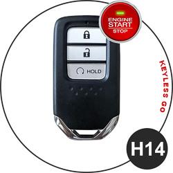 Honda fob key type - H14