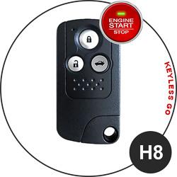 Honda fob key type - H8