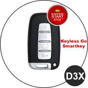 Hyundai Schlüssel D3X