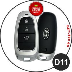 Hyundai Schlüssel D11