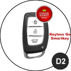 Hyundai Schlüssel D2