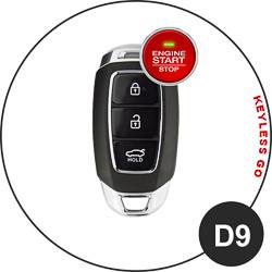 Hyundai Schlüssel D9