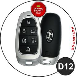 Hyundai Schlüssel D12