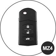 Mazda MZ4 Schlüsselmodell