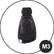 Mercedes M3 Schlüsselmodell