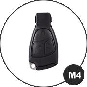 Mercedes M4 Schlüsselmodell
