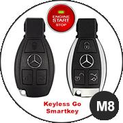Mercedes M8 Schlüsselmodell
