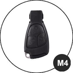 Modèle clé Mercedes Benz - M4