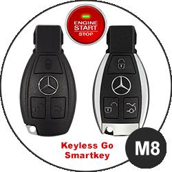 Modèle clé Mercedes Benz - M8