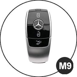 Modèle clé Mercedes Benz - M9