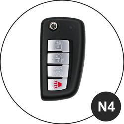 Nissan Schlüssel N4
