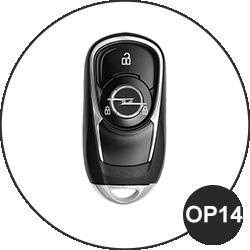 Opel Schlüssel OP14