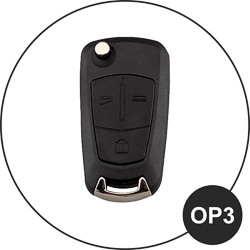 Opel Schlüssel OP3