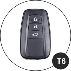 Toyota Schlüssel T6