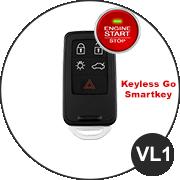VOLVO Smartkey Schlüssel VL1