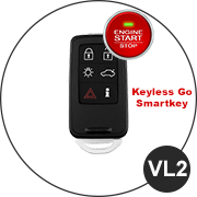 VOLVO Smartkey Schlüssel VL2