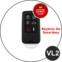 Modèle clé Volvo - VL2