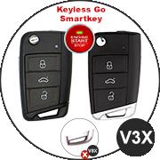 VW-Skoda-Seat Schlüssel V3X