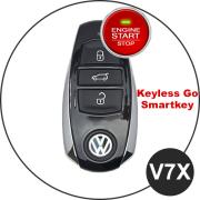 VW Schlüssel V7X