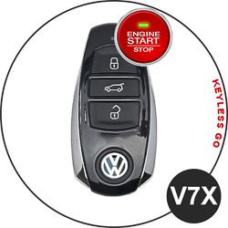VW Touareg Key V7X (Keyless Go)