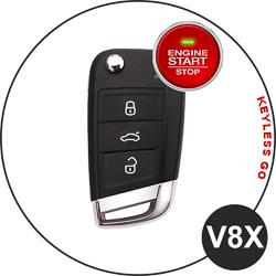 VW Key V8X (Keyless Go)