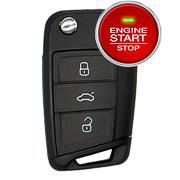 Seat Key - V3X (Keyless-Go / Smartkey)