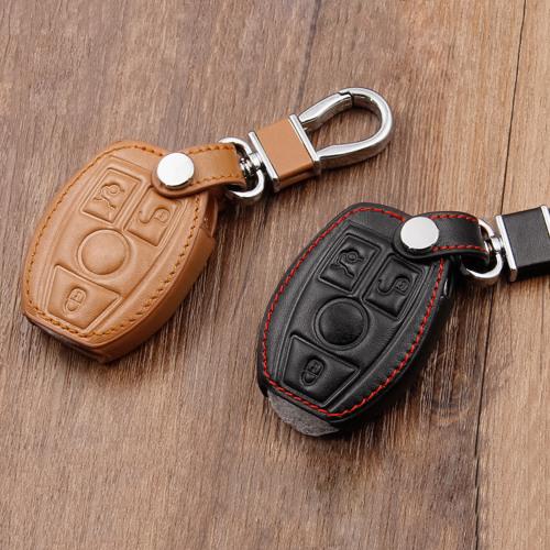 Cuero funda para llave de Mercedes-Benz M7
