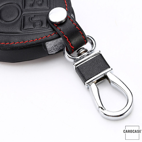 Leather car key case for Mercedes-Benz - key type M7