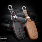 Car Key Cover Leather for Audi - KeyType AU5