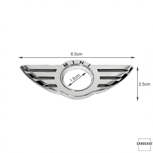 Car Styling Door Pin Lock Wing Emblem Badge