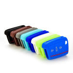 Silicone key case/cover for Volkswagen, Audi, Skoda, Seat remote keys blue SEK1-V3-4